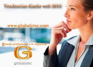Tendencias diseño web 2016
